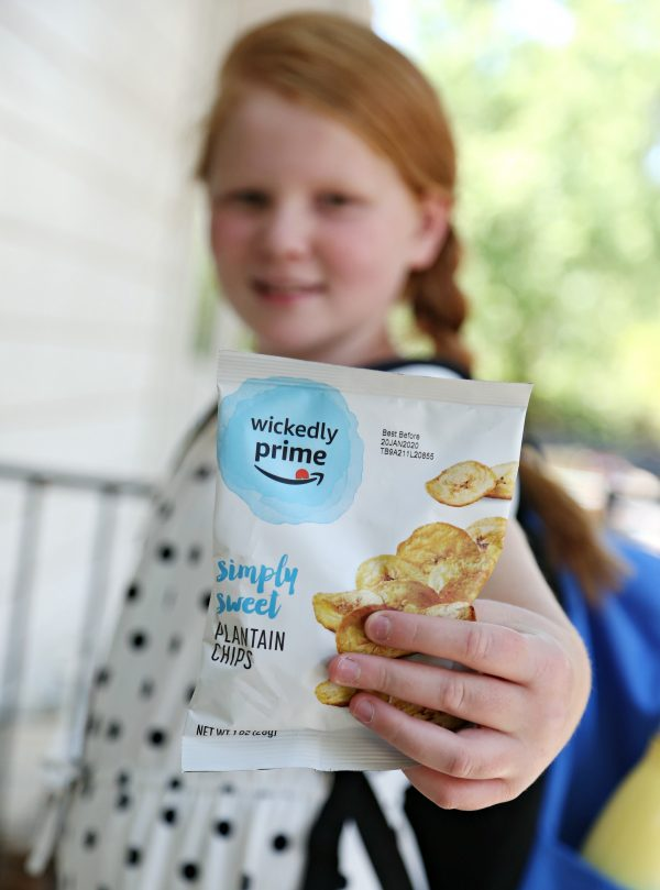 Wickedly Prime Plantain Chips for School Snacking