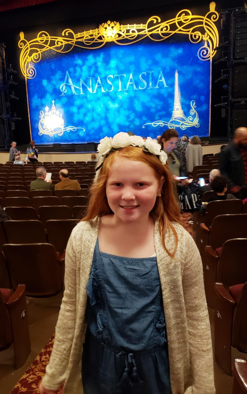 Bea at ANASTASIA The Musical