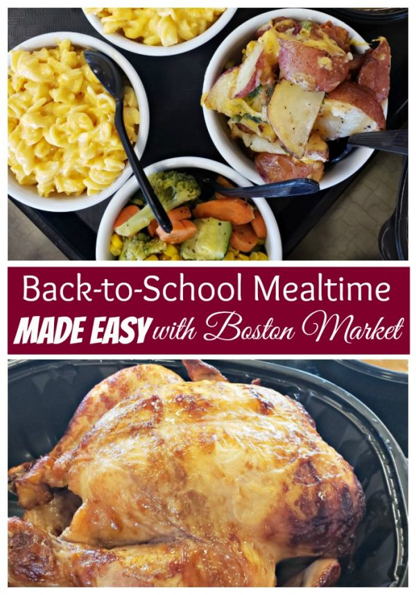 Back-to-School Mealtime Made Easy with Boston Market