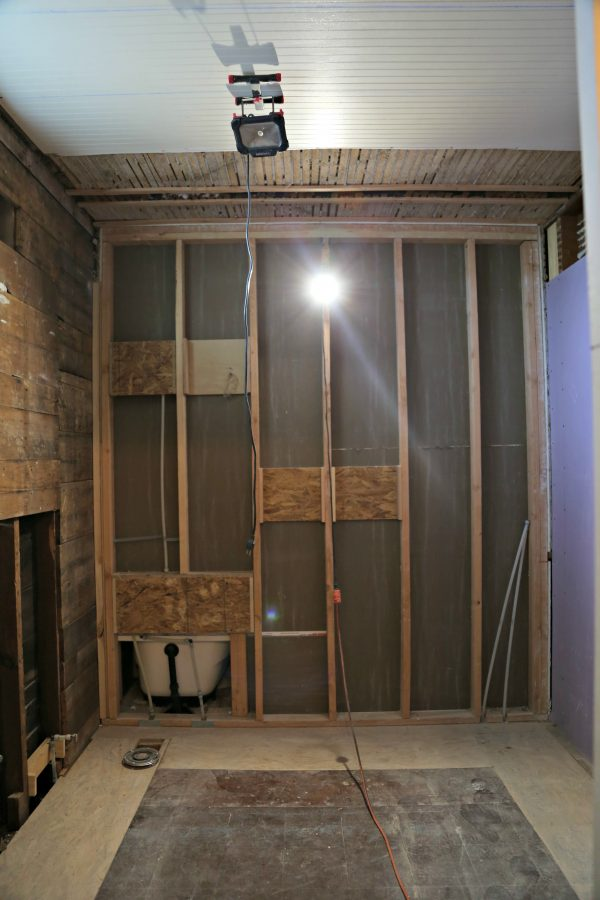 Master Bathroom Before pictures
