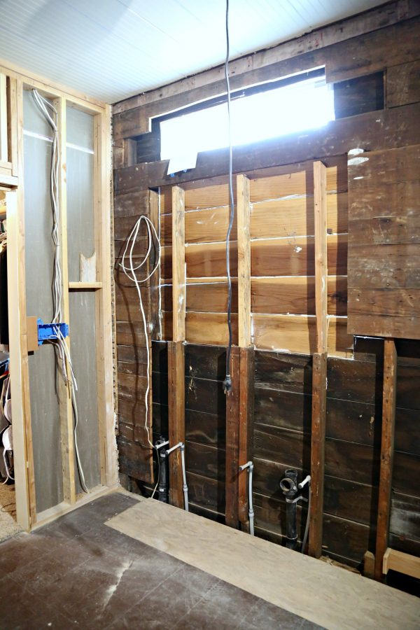 Master Bathroom Before with Window pictures