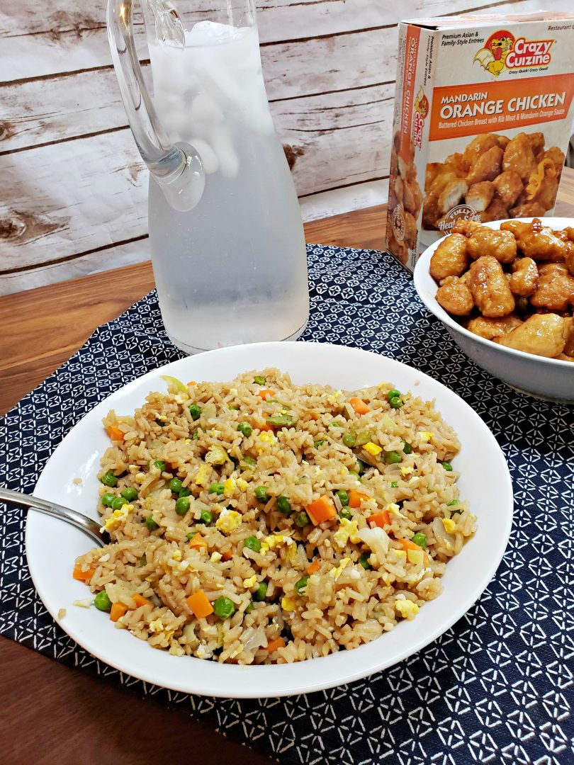 Easiest Fried Rice Recipe Ever!