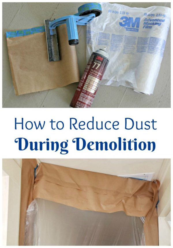 How to Reduce Dust During Demolition