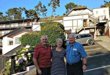 My Mother-in-law and her Siblings Take On Carmel and Monterey