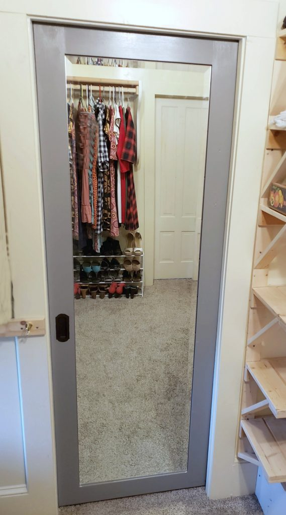 Pocket Door from Closet to Bathroom