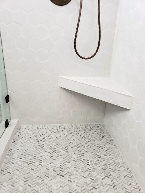 Master Shower Tile from Jeffrey Court