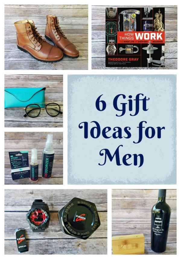 6 Gift Ideas for Men with something for everyone!