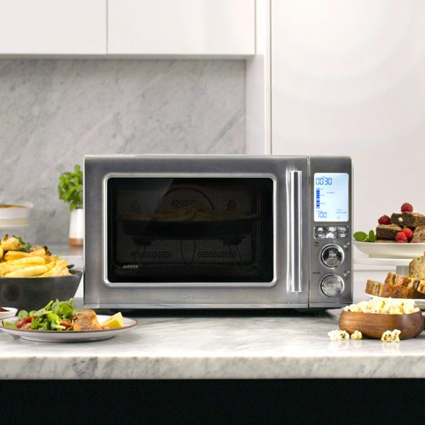 Combine Your Favorite Kitchen Appliances with Breville Combi 3-in-1 Microwave