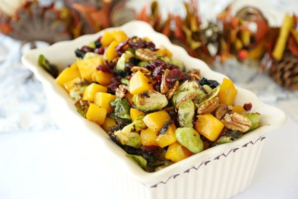Fall Roasted Brussels Sprouts Medley