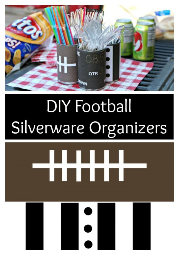 DIY Football Silverware Organizers