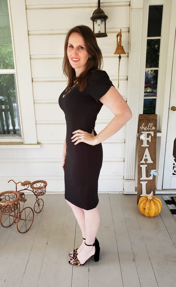 Size 2 dress after abdominoplasty