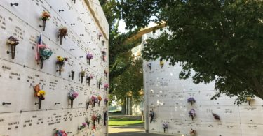 Burial ideas at Chapel of the Chimes