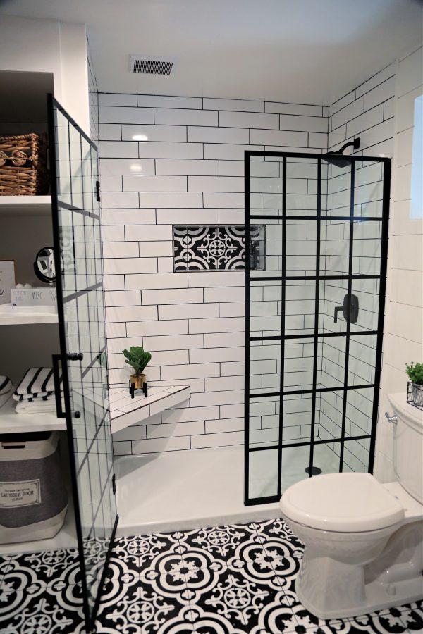 Farmhouse Bathroom shower