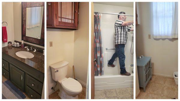 Guest Bathroom Before Photos