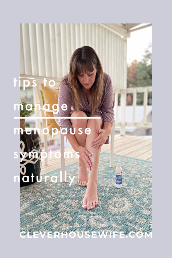 Tips to manage menopause symptoms naturally